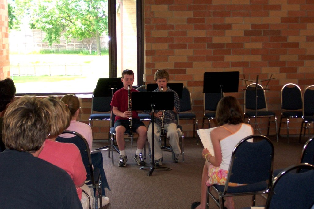 First Studio Recital, June 15, 2002, Bloomington, MN