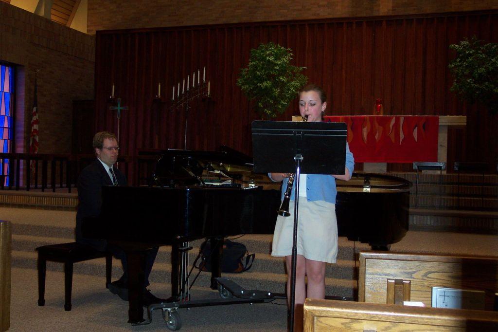 Studio Recital, June 14, 2003, Christ the King Lutheran Church, Bloomington, MN